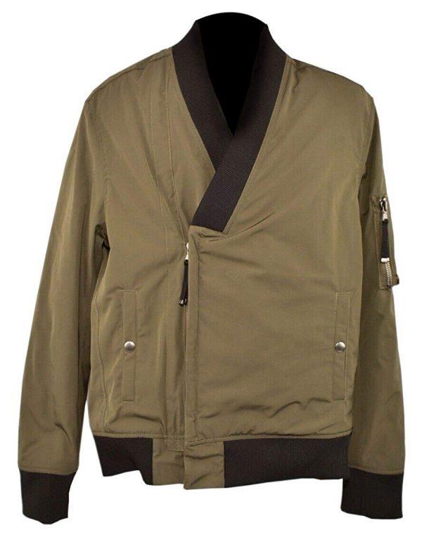 Jiarrino Samurai Khaki Men's Cotton Jacket