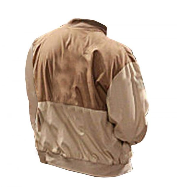 (Jim Parsons) The Big Bang Theory Brown Cotton Jacket back side