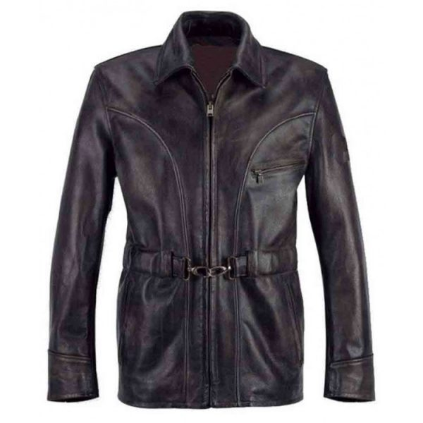 Leatherheads Dodge Connelly leather Jacket front side