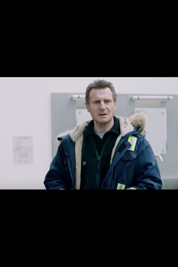 Liam John Neeson Cold Pursuit Parka Coat look