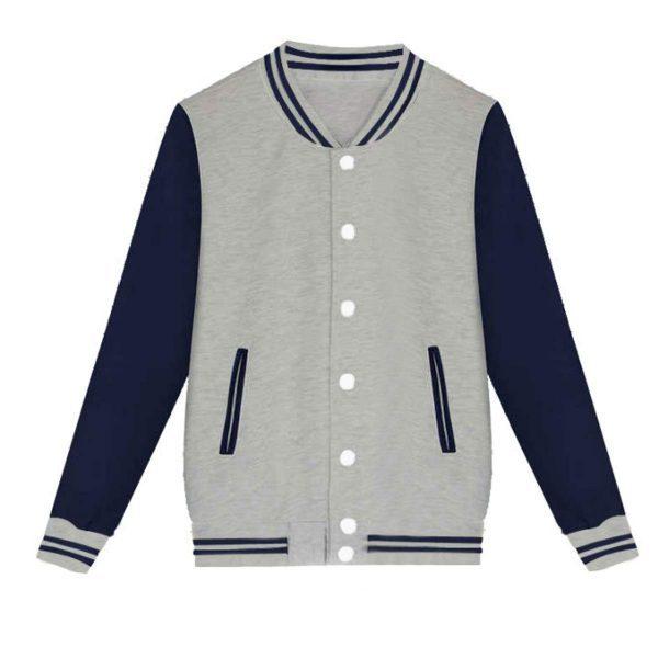 Men's Hip Hop Outwear Baseball Cotton Streetwear Varsity Jacket