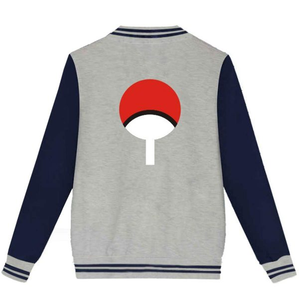 Men's Hip Hop Outwear Baseball Cotton Streetwear Varsity Jacket back side