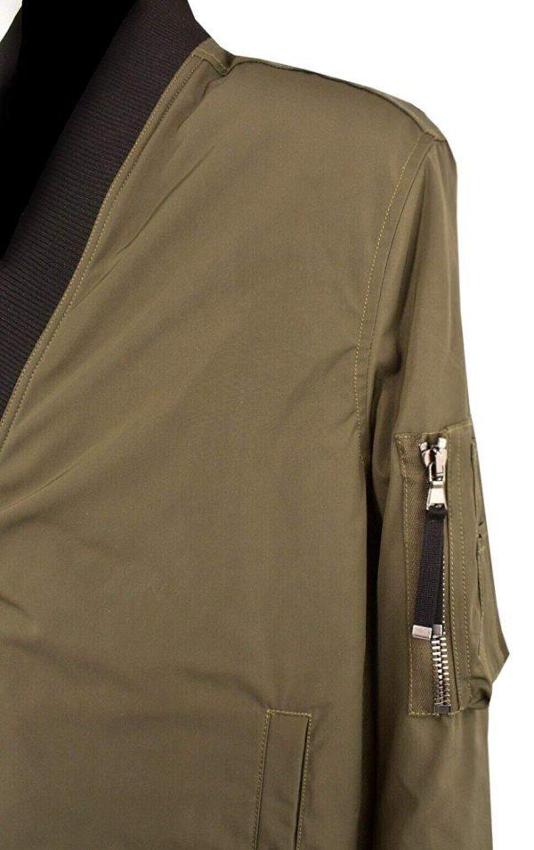 Men's Jiarrino Samurai Khaki Jacket side