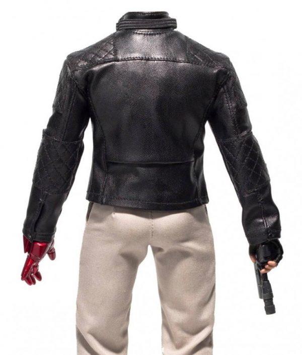 Metal Gear Solid 5 Leather Jacket backside