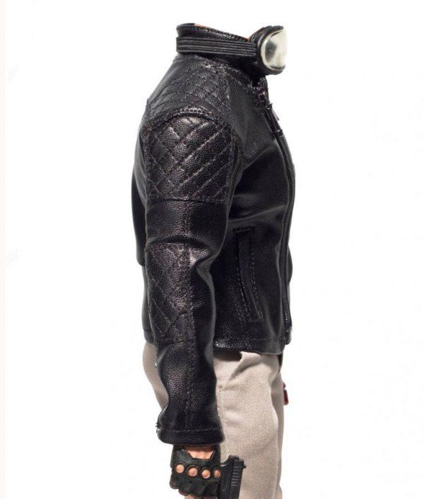 Metal Gear Solid 5 Leather Jacket side