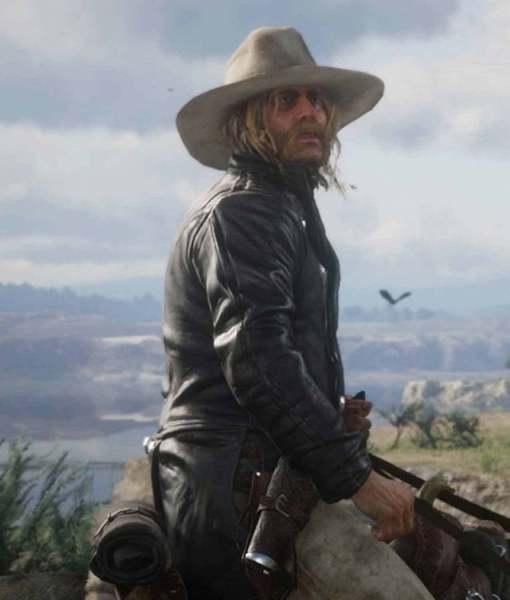 Micah Bell Red Dead Redemption 2 Coat Horse