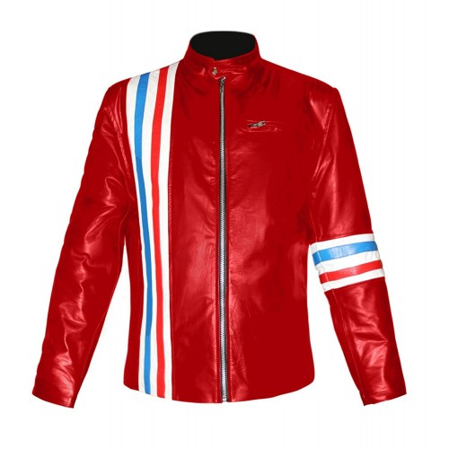 Peter Fonda Genuine Bomber Leather Jacket