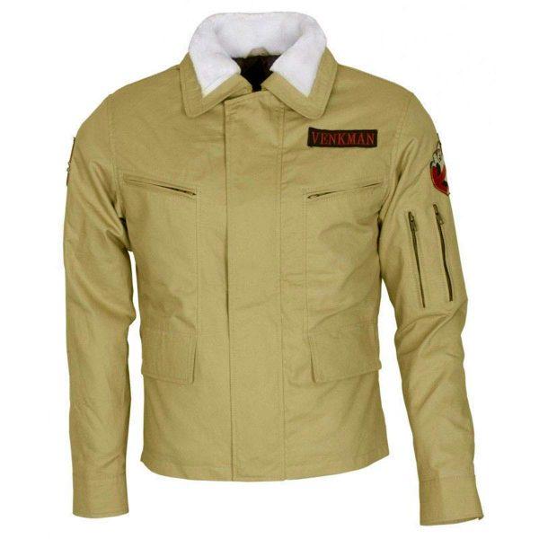 Peter Venkman Celebrity Ghostbusters Cotton Jacket