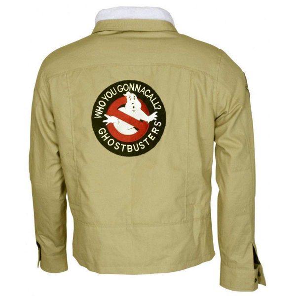 Peter Venkman Celebrity Ghostbusters Cotton Jacket back side