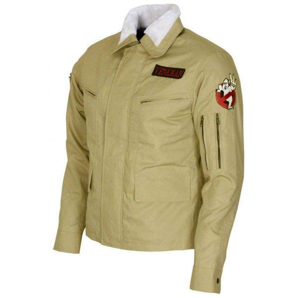 Peter Venkman Celebrity Ghostbusters Cotton Jacket side look