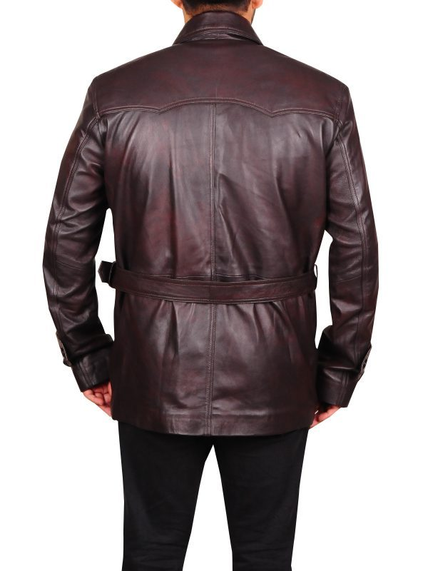 Pierce Brosnan Tomorrow Never Dies Jacket back side