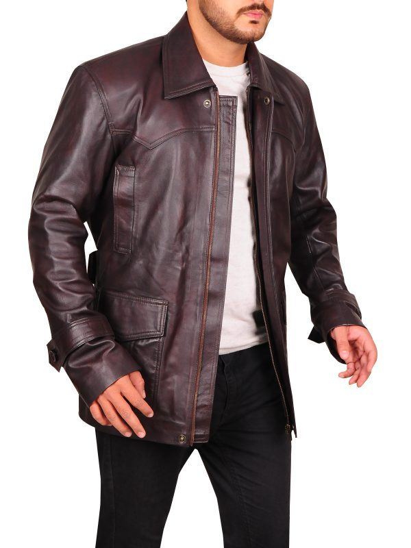 Pierce Brosnan Tomorrow Never Dies Jacket side look