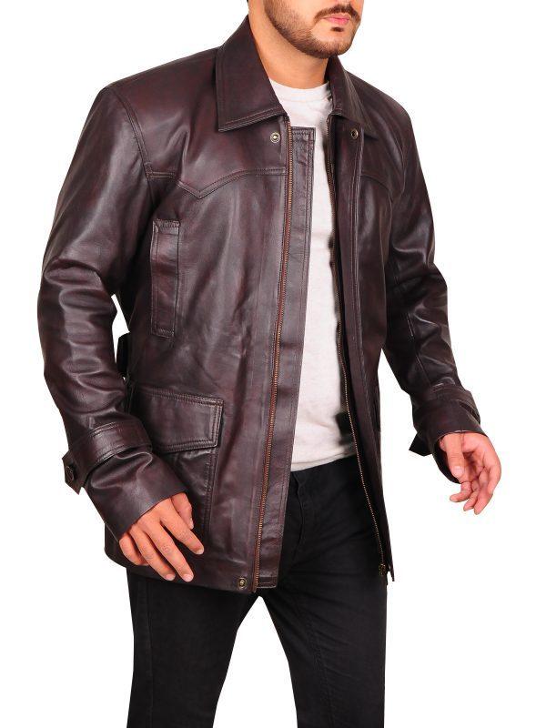 Pierce Brosnan Tomorrow Never Dies Jacket side look
