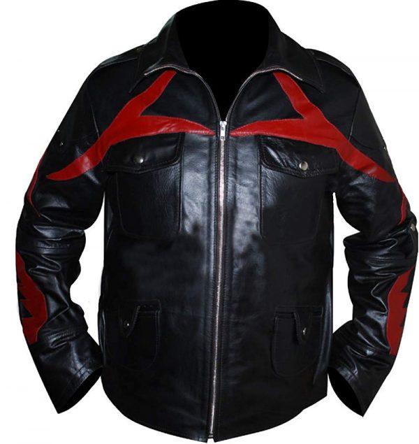 Prototype James Heller Alex Mercer Black Genuine Leather Jacket look