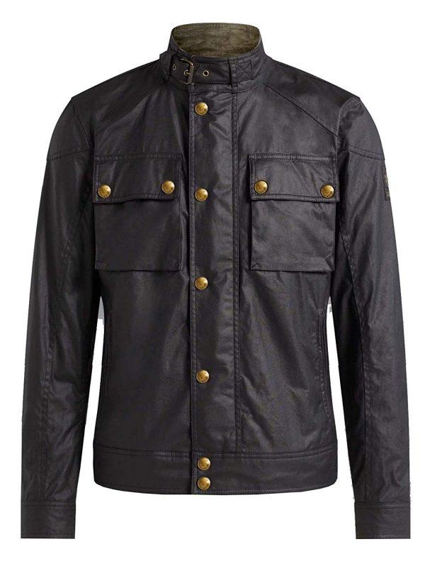 Race Masters Blouson Vintage Black Jacket