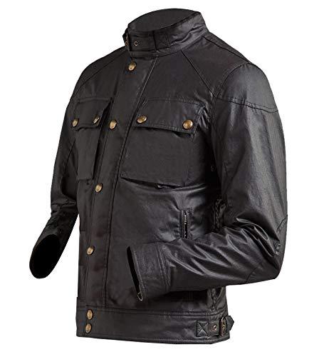 Race Masters Blouson Vintage Black Jacket side look