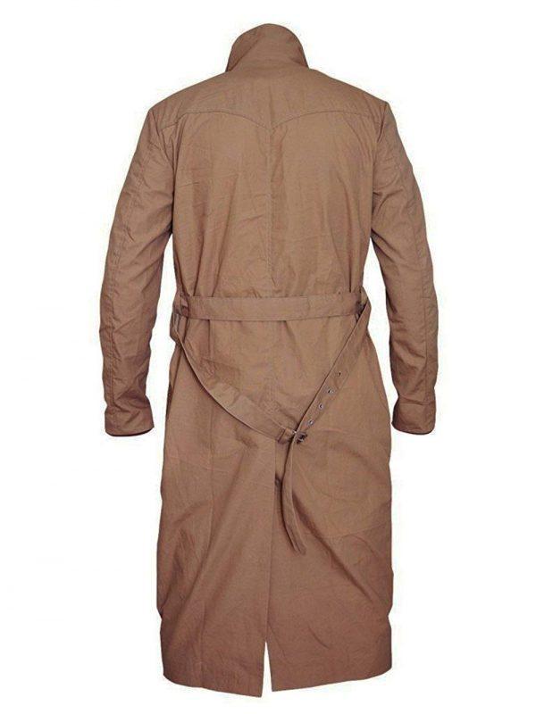 Rip Hunter Legends of Tomorrow Arthur Darvill Cotton Coat back side