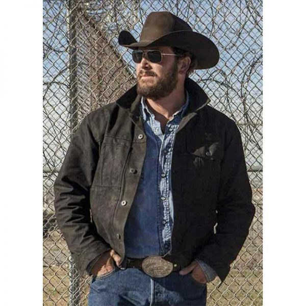 Rip Wheeler Yellowstone Hauser Jacket look
