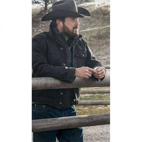 Rip Wheeler Yellowstone Hauser Jacket side