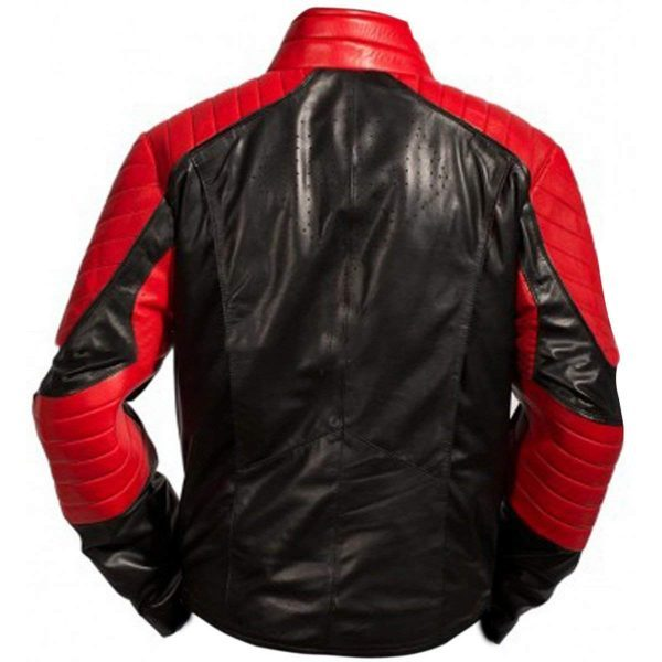 Smallvile Superman Tom Welling Bomber Leather Jacket back side