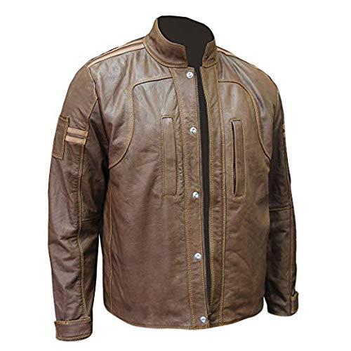 The Café Racer Brown Distressed Vintage Leather Jacket