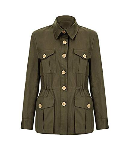 The Tracker Road Master Olive Cotton Jacket look