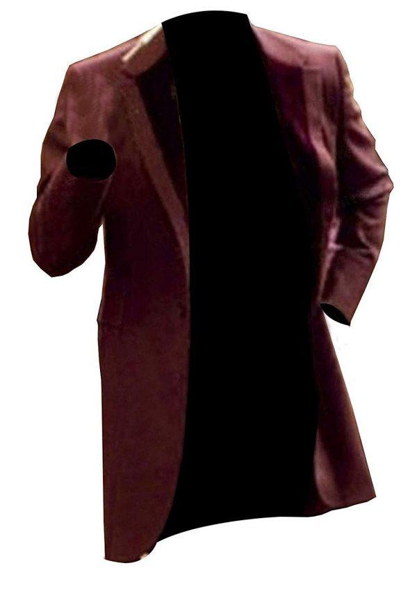 Unchained Monsieur Leonardo Dicaprio Candie Cotton Coat one look