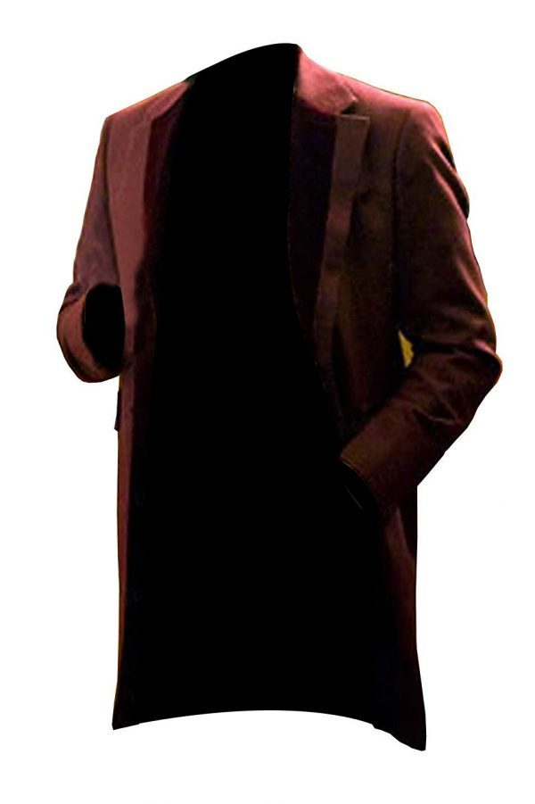 Unchained Monsieur Leonardo Dicaprio Candie Cotton Coat side look