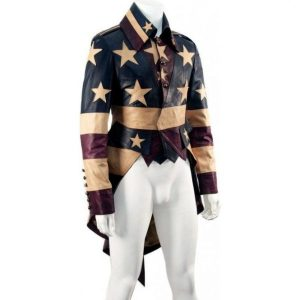 Vintage America Tail Coat Leather Jacket