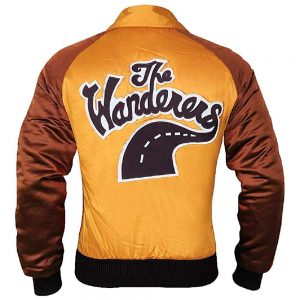 Wanderers Varsity Ken Wahl High Qaulity Jacket Back Look