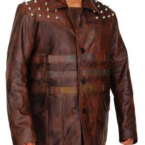 Windham Lawrence Rotunda Studded Leather Jacket