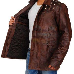 Windham Lawrence Rotunda Studded Leather Jacket side