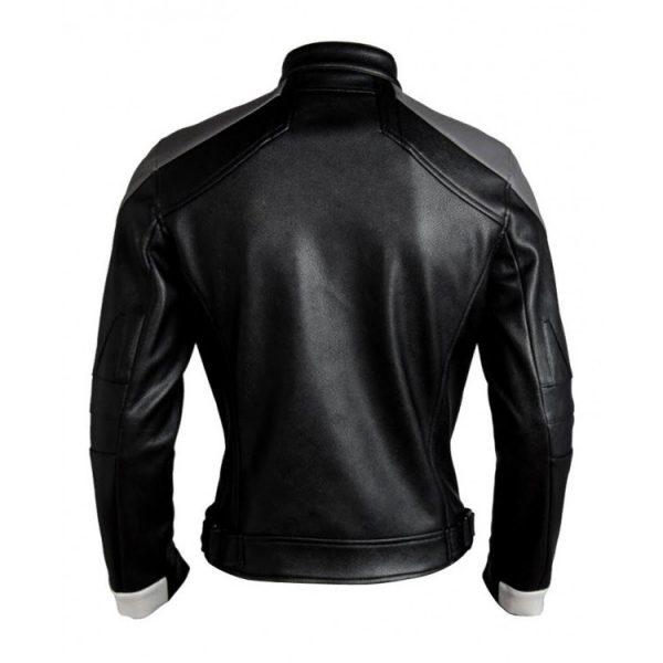 Ghost Rider Agents of Shield Robbie Reyes Leather Jacket back