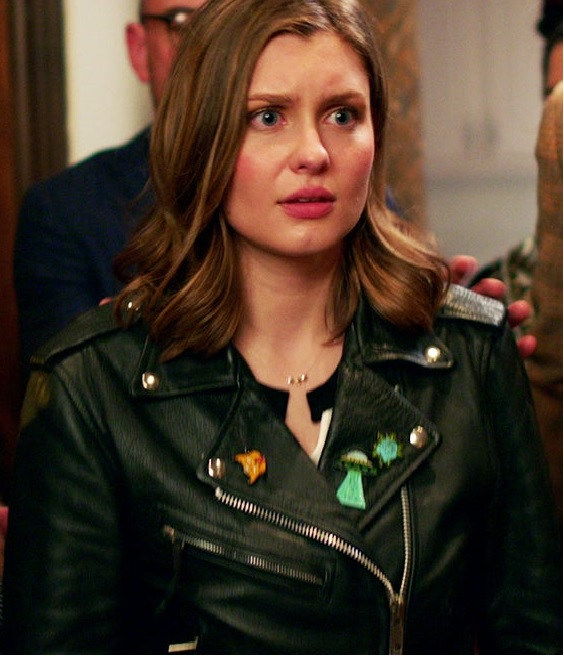 Hayley Griffith Samantha Sam Craft Black Jacket front