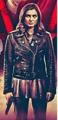 Hayley Griffith Samantha Sam Craft Black Jacket