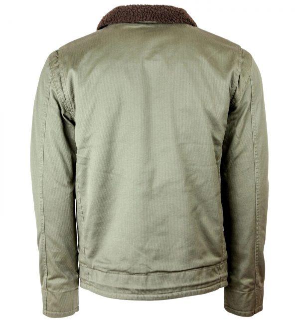 Iron and Resin Mens Midway Cotton Jacket back