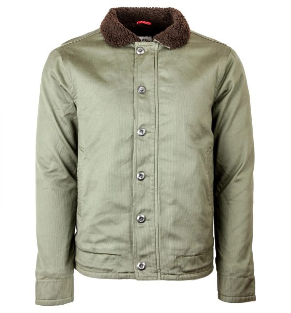 Iron and Resin Mens Midway Cotton Jacket front
