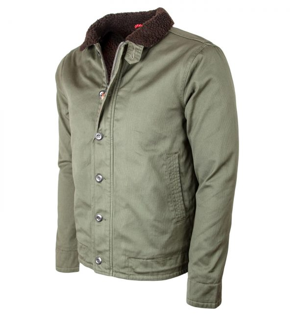 Iron and Resin Mens Midway Cotton Jacket side