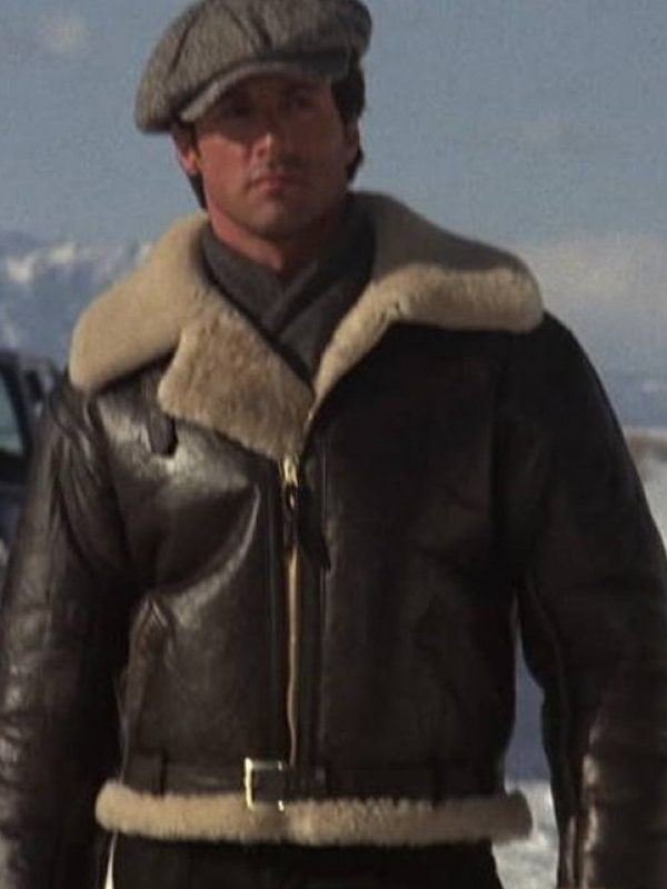 Rocky IV Balboa Sylvester Stallone Leather Jacket