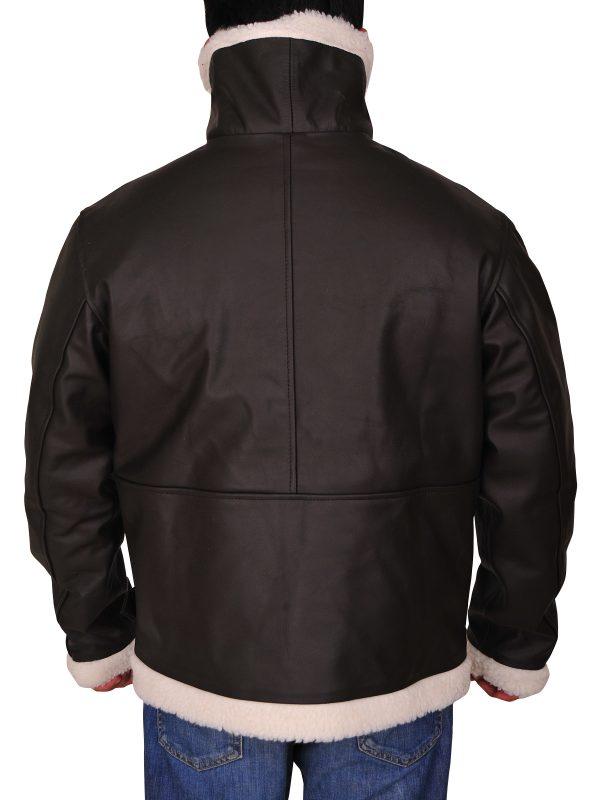 Rocky IV Balboa Sylvester Stallone Leather Jacket back