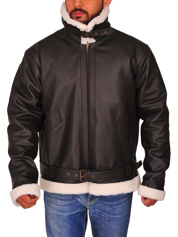 Rocky IV Balboa Sylvester Stallone Leather Jacket front