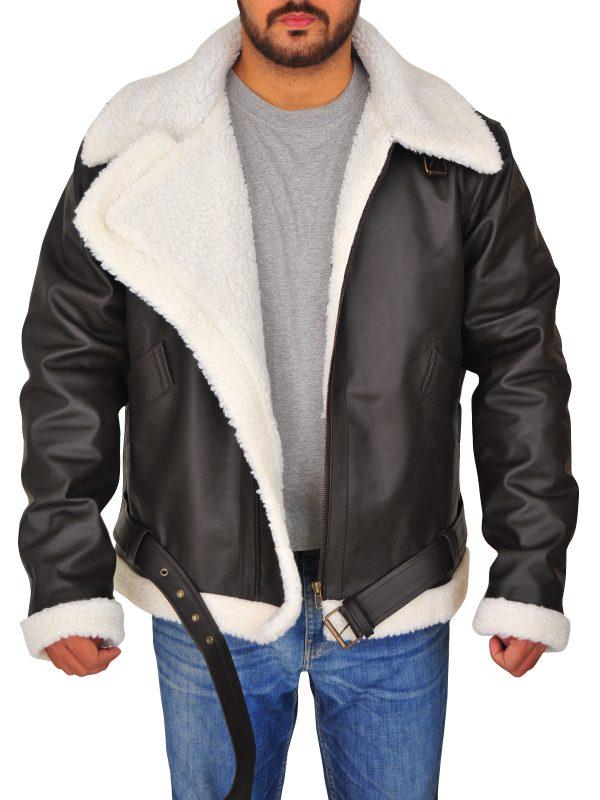 Rocky IV Balboa Sylvester Stallone Leather Jacket open