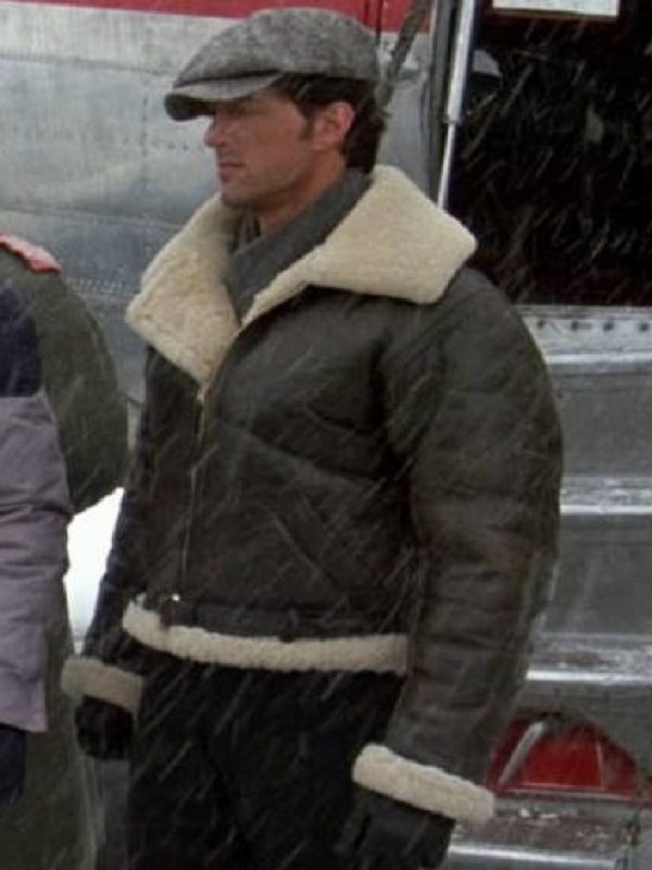 Rocky IV Balboa Sylvester Stallone Leather Jacket side