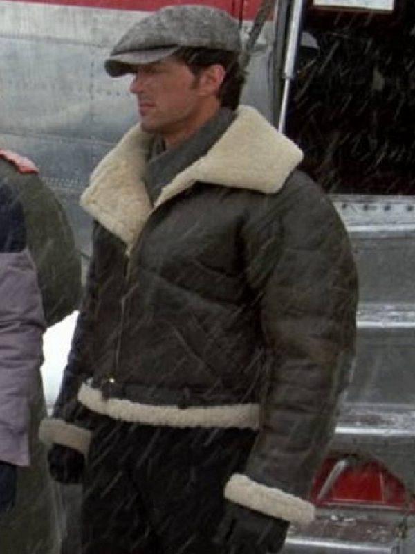 Rocky IV Balboa Sylvester Stallone Leather Jacket side
