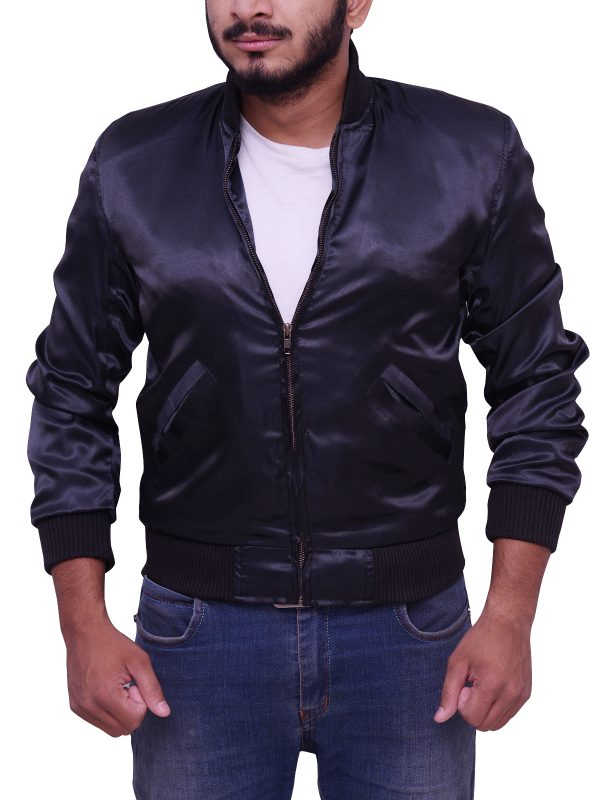 Sylvester Stallone Rocky II Satin Tiger Jacket open
