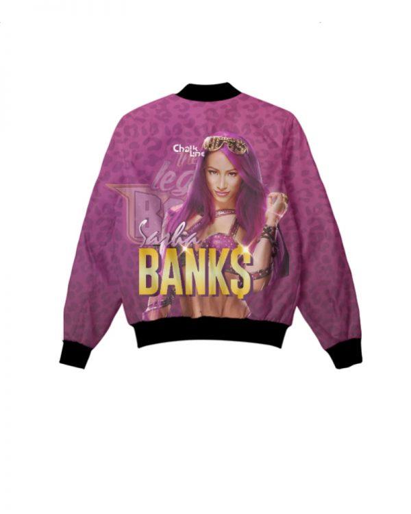 WWE Sasha Banks Retro Fanimation Jacket
