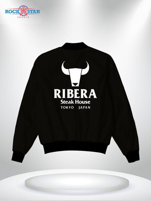 ribera steakhouse satin jacket for sale
