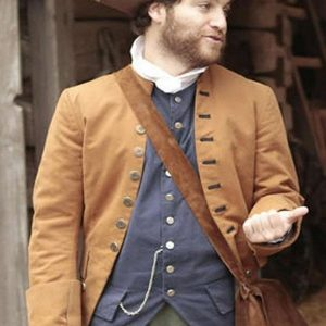 Adam Pally Making History Series Dan Brown Coat back