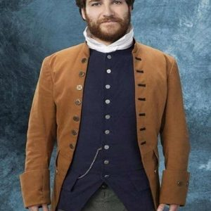 Adam Pally Making History Series Dan Brown Coat front