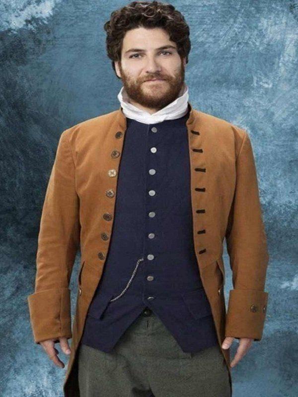 Adam Pally Making History Series Dan Brown Coat front